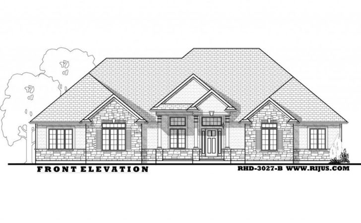 Rijus Home Design Ltd Ontario House Plans Custom