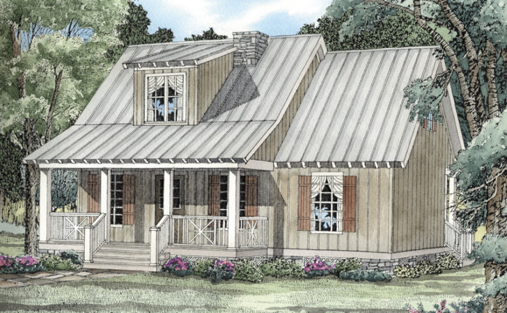 Rivers Edge Rustic Cabin Home Plan House Plans