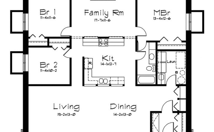 Rockspring Hill Berm Home Plan House Plans