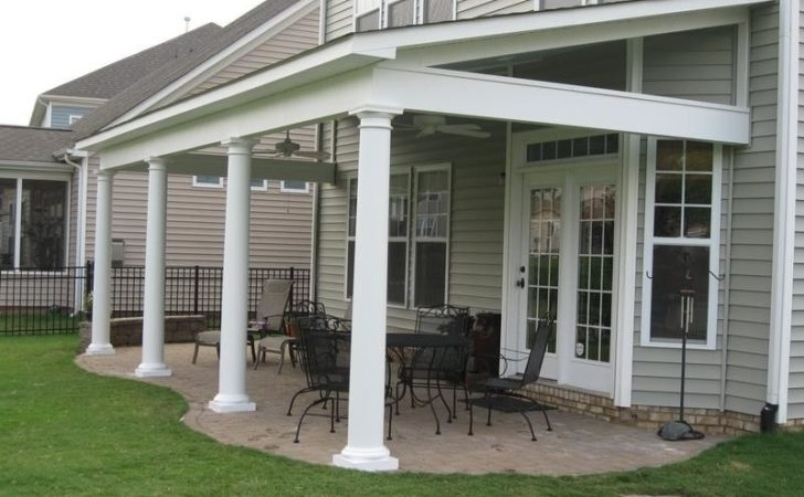 Roofing Build Porch Roof Screened