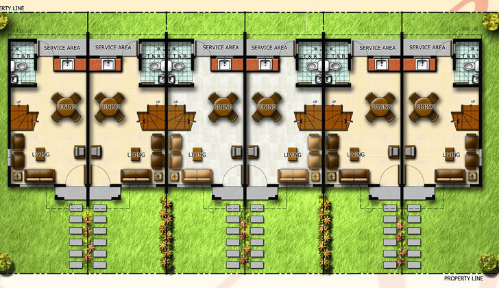 Row Houses Design Philippines House Designs