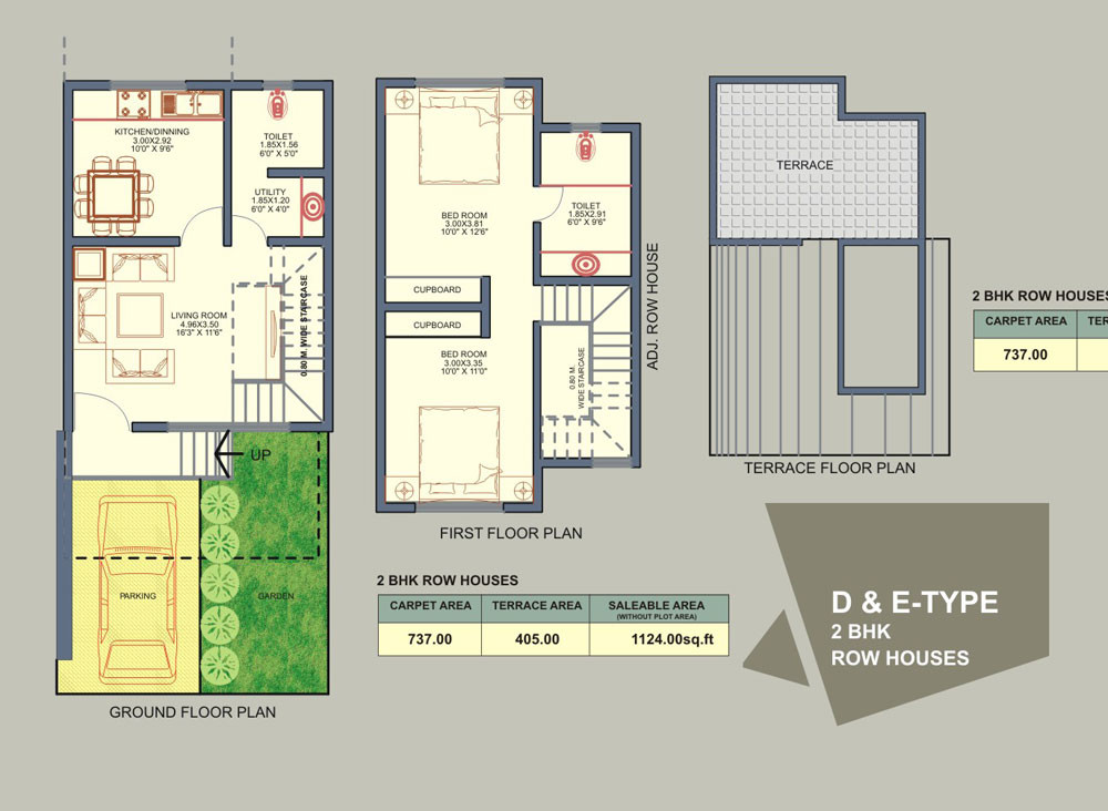 Rowhouse Floor Plans Find House