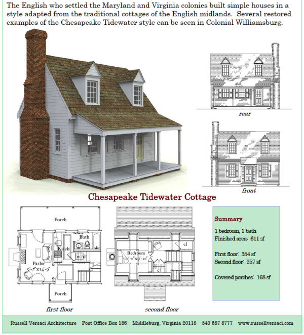 Russell Versaci Simple Cottage Plans