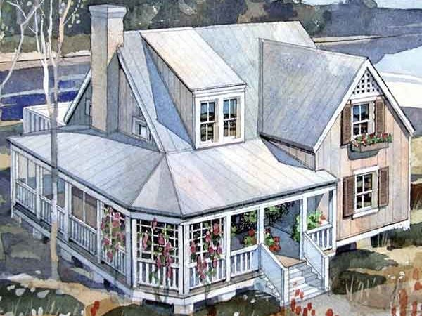 Rustic Beach Cottage Coastal Living Southern