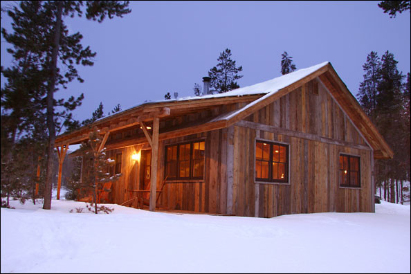 Rustic Cabin Plans Drawings Telluride