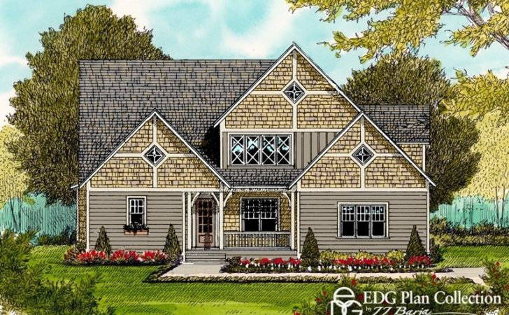 Rustic Cottage Plan Edg Collection