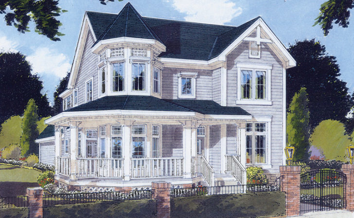 Saguenay Victorian Home Plan House Plans More