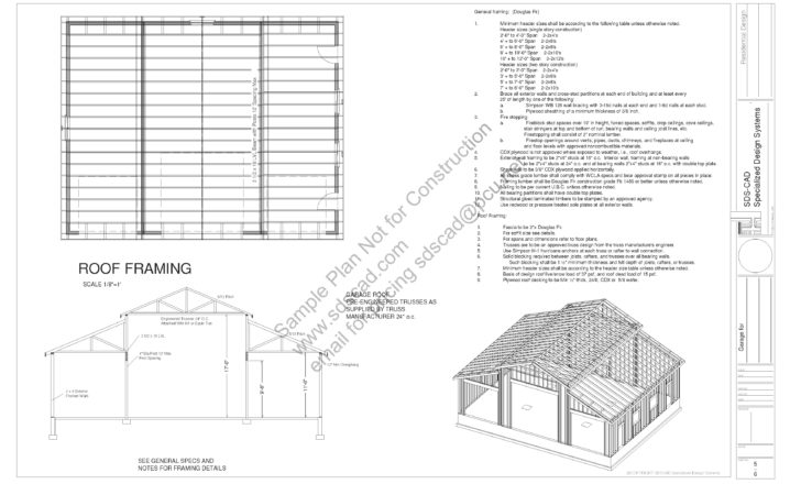 Sample Barn Plan Sds