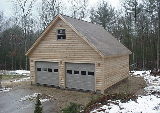 Sample Car Garage Plans Story Loft