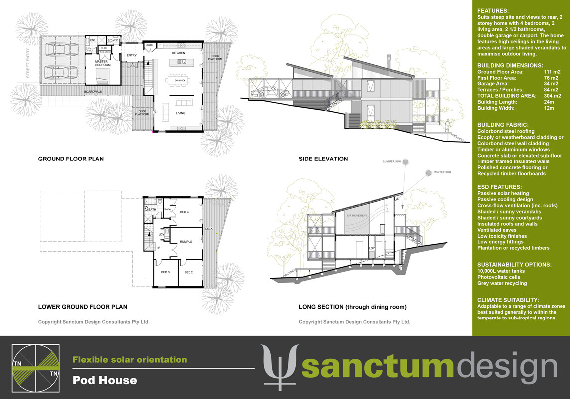 Sanctum Design Environmentally Responsible Home