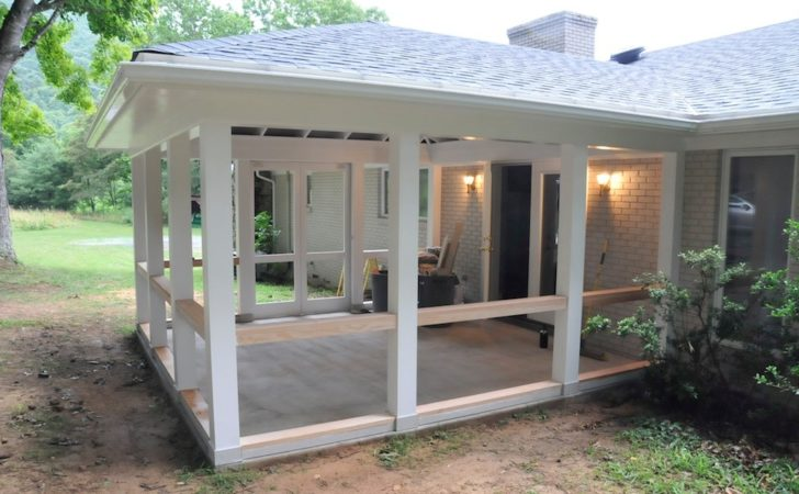 Screen Porch Construction Andrew Watkins Custom