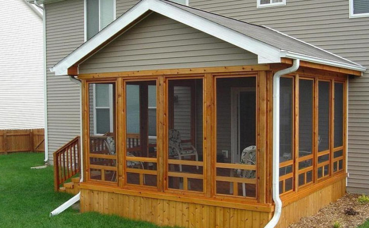 Screen Porch Designs Houses One Ideas