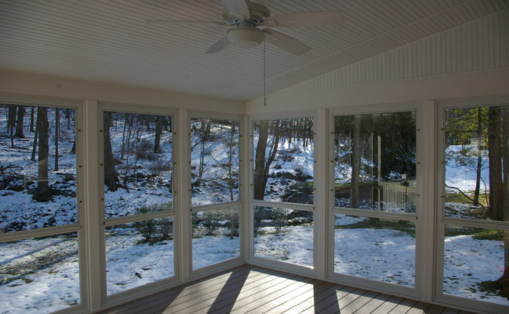 Screen Porch Enclosed Sunroom Custom Decks
