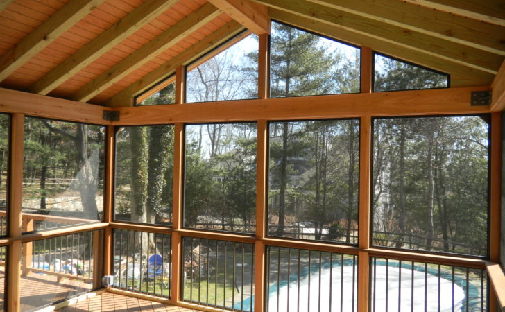 Screen Porches Bring Outdoor Living Into Night