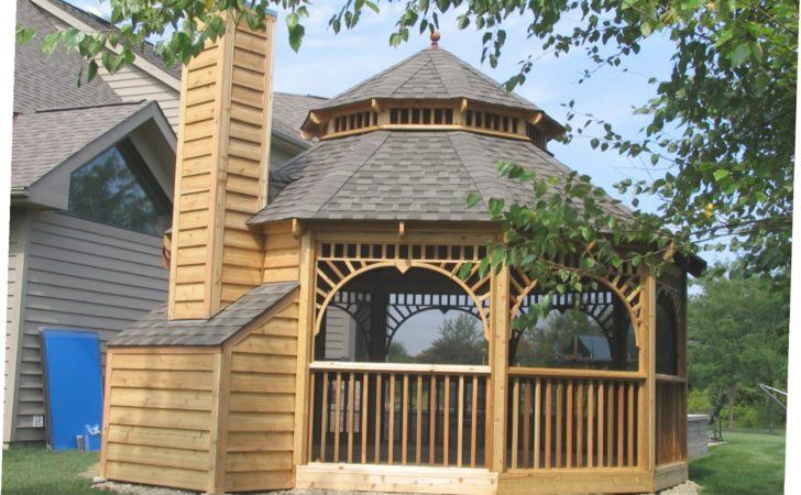 Screened Gazebo Plans Ideas