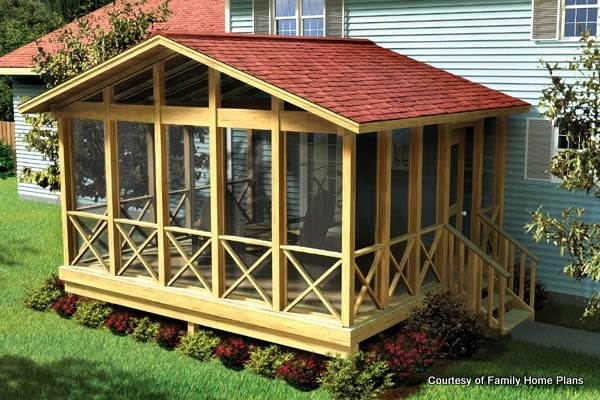 Screened Porch Plans Build Modify