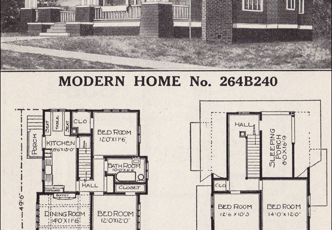 Sears Craftsman Style House Modern Home