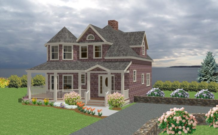 Seaside Cottage Traditional House Plan New England Country