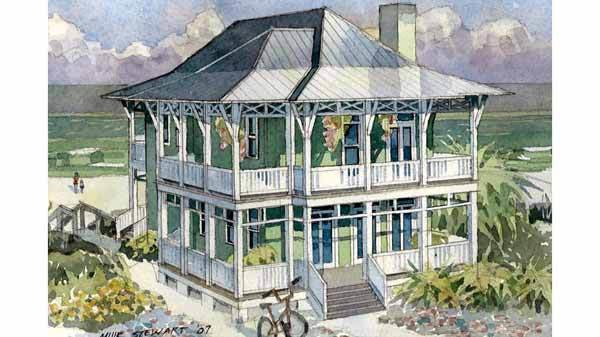 Seaside Escape Benjamin Showalter Southern Living