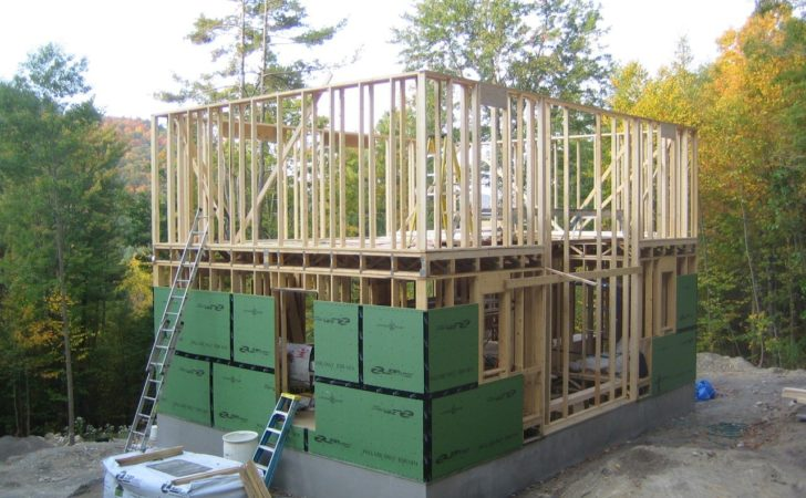 Second Floor Framing Hill House