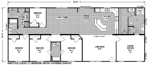 Sectional Mobile Home Floor Plan Spring Select