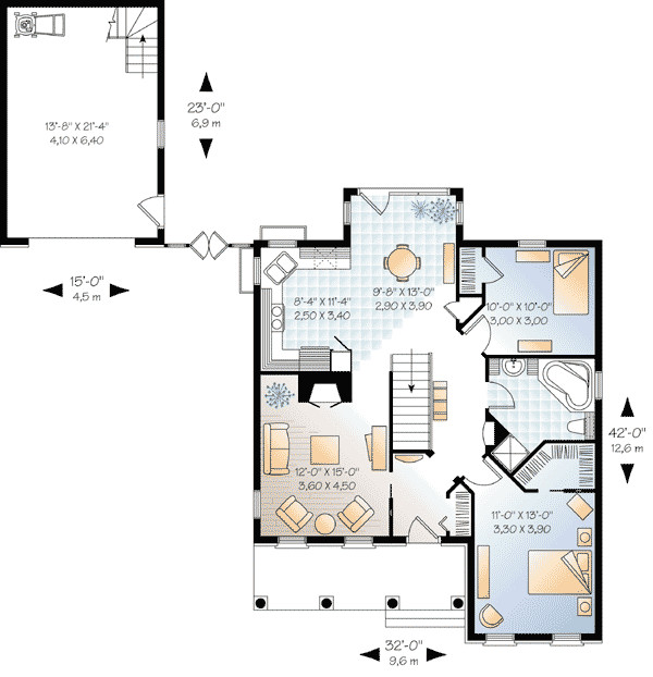 Separate Garage House Plans Home Design Style