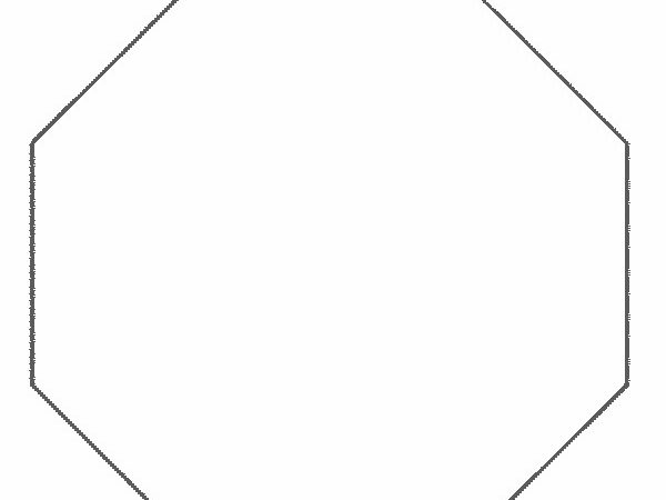 Shape Octagon Coloring