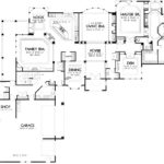 Shaped Garage House Plans Homes Floor