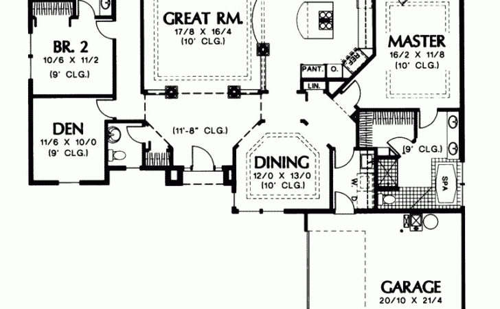 Shaped House Plans Story Best