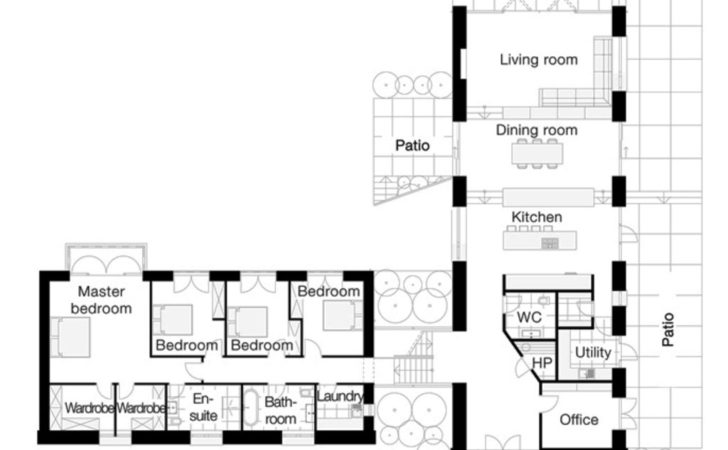 Shaped Ranch Home Plans Wiring Diagram Website