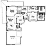 Shaped Ranch House Designs Homes Floor Plans