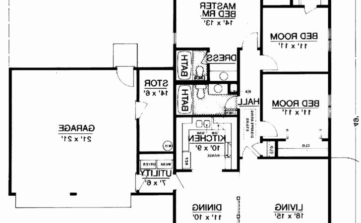 Shaped Ranch House Plans New
