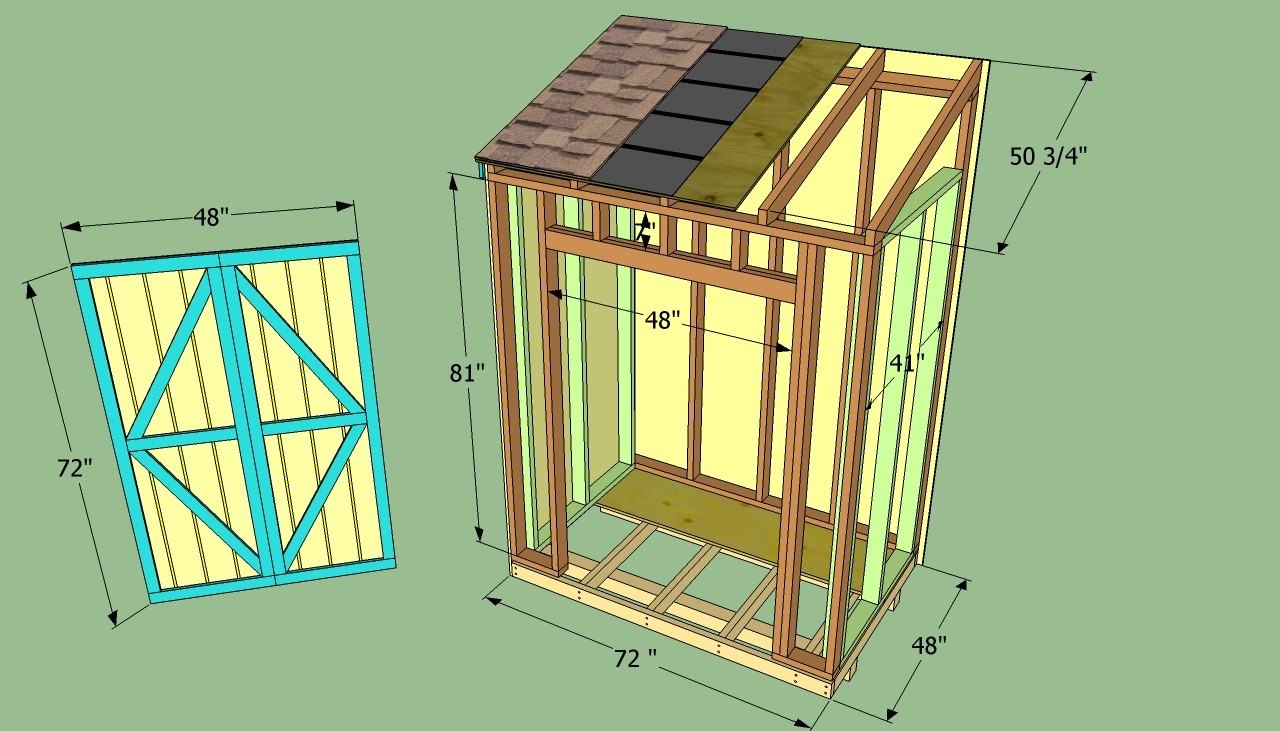 Shed Blueprints Lean Plan