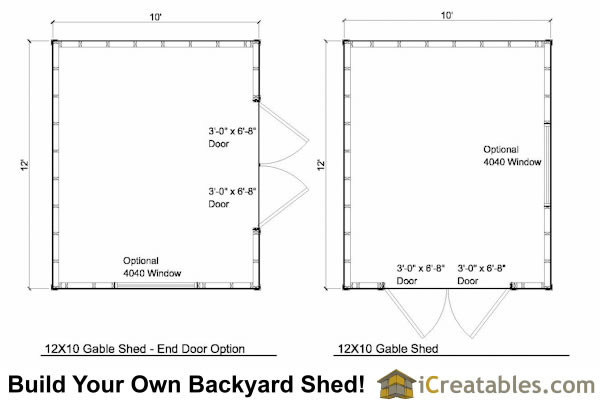 Shed Plans Backyard Icreatables