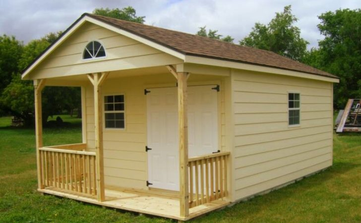Shed Plans Construct Wood Storage Buildings