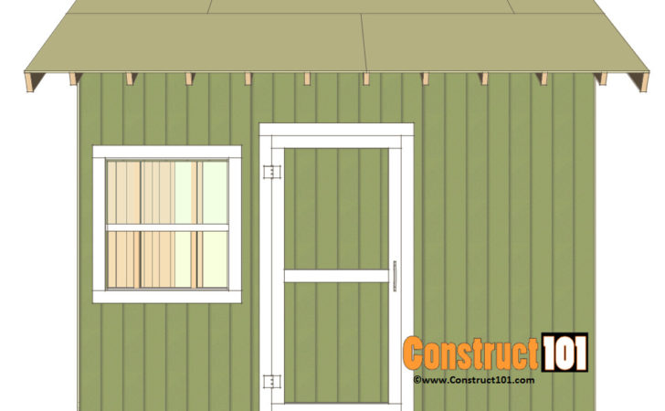 Shed Plans Gable Construct