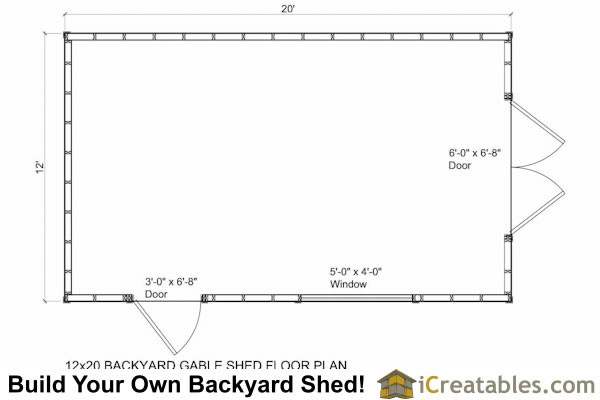 Shed Plans Storage Icreatables