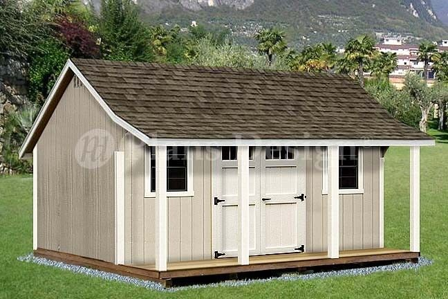 Shed Porch Pool House Plans