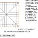 Shed Roof Framing Plan Modern House