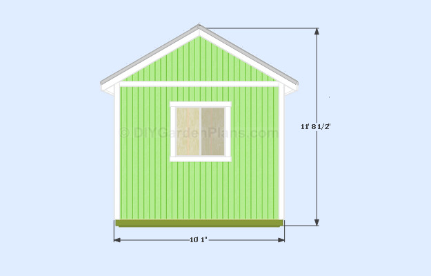 Sheds Ottors Pent Shed Plans Gable Roof