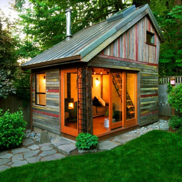 Sheds Turned Into Awesome Mancaves