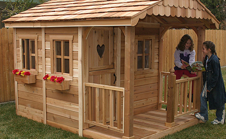Shop Outdoor Living Today Sunflower Wood Playhouse Kit