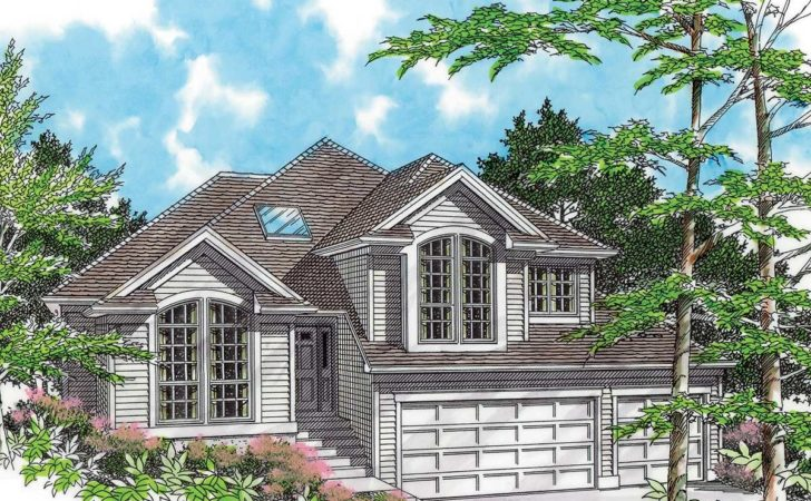 Side Sloping Lot Architectural Designs