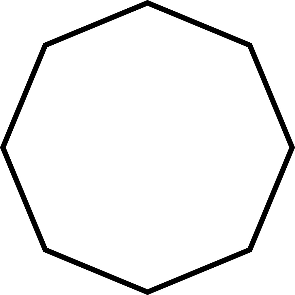 Sided Polygon Clipart Etc