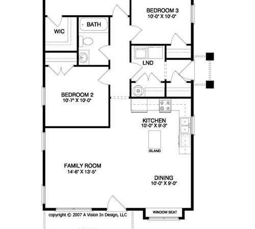 Simple Bedroom House Floor Plans Unique Small