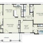 Simple Bedroom House Plans Without Garage Point Floor