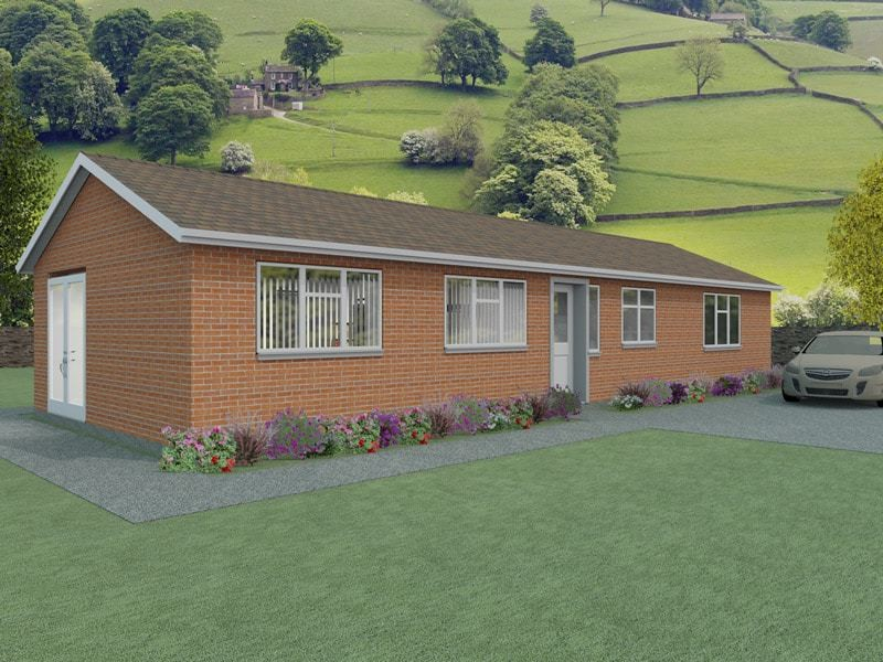 Simple Bungalow Plans Vowchurch Houseplansdirect