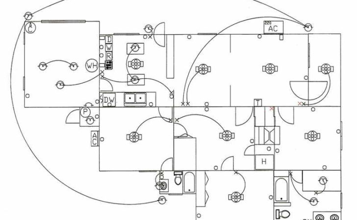 Simple Electrical House Wiring Diagram