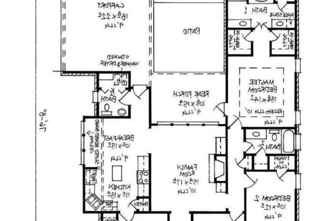 Simple Four Bedroom House Plans Bellaoutfits Fresh