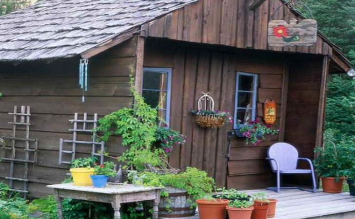 Simple Garden Shed Ideas